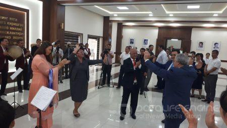 Namangan viloyatiga Ozarbayjon Respublikasidan delegatsiya tashrif buyurdi