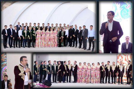 Тошкент вилояти Маданият бошқармаси қошидаги Мақом ансамбли хайрия концерти уюштирди
